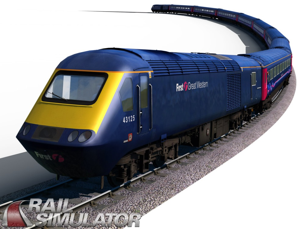 HST Engine rendering from Rail Simulator