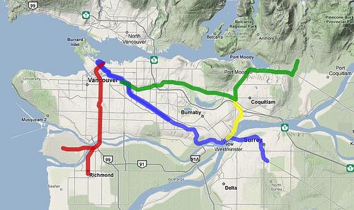 Transit Network 2014 by Paul Hillsdon