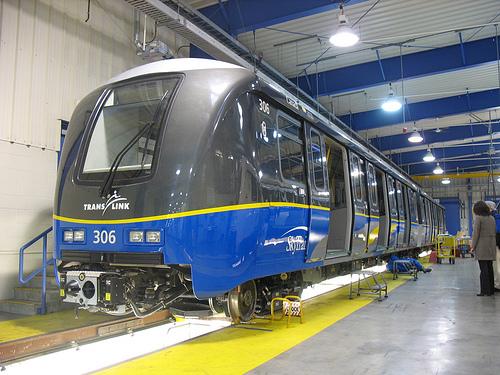New SkyTrain cars (from Paul Hillsdon's flickr photostream)