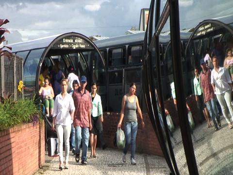BRT in Curitiba, Brazil
