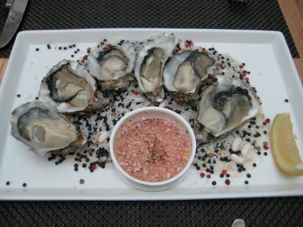 Pacific Oyster Entree