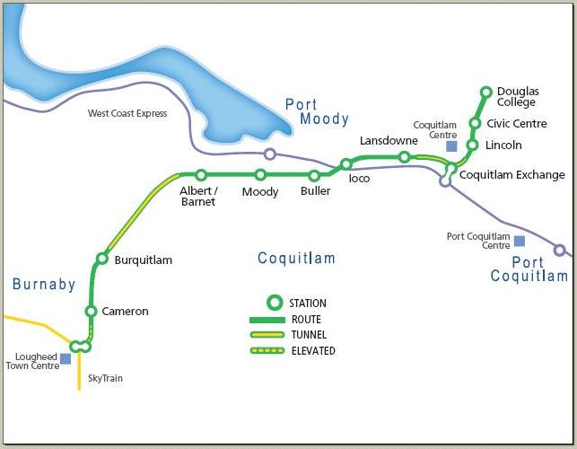 Evergreen Line how many stations metrobabel