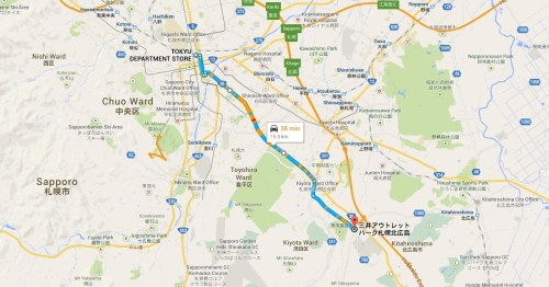 tokyu to mitsui outlet park
