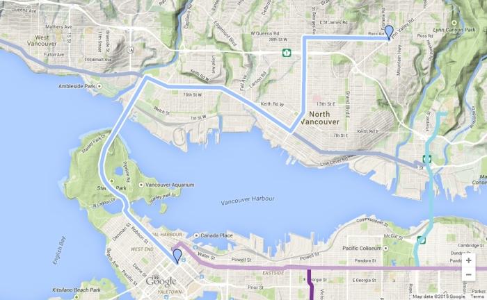 Transporation And Transit Plan 11 Lynn Valley To
