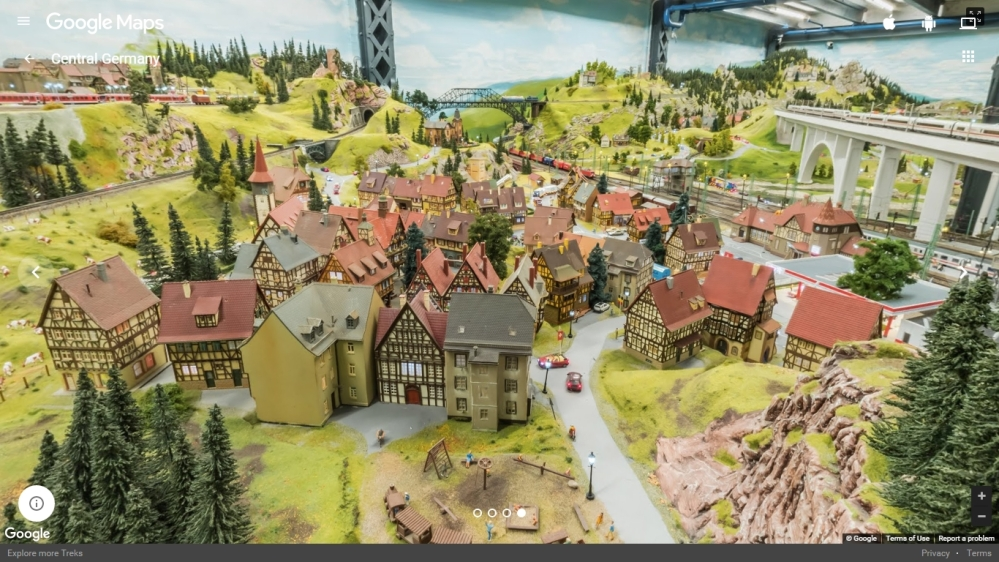 das miniatur wunderland central german town