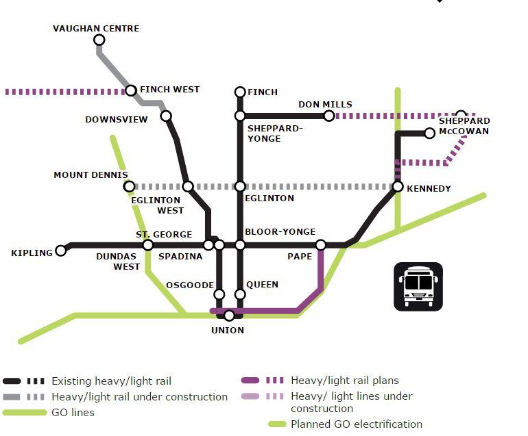 Olivia Chow 2014 Transit Plan