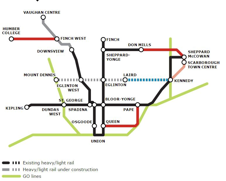 Rob Ford 2014 Subway Plan